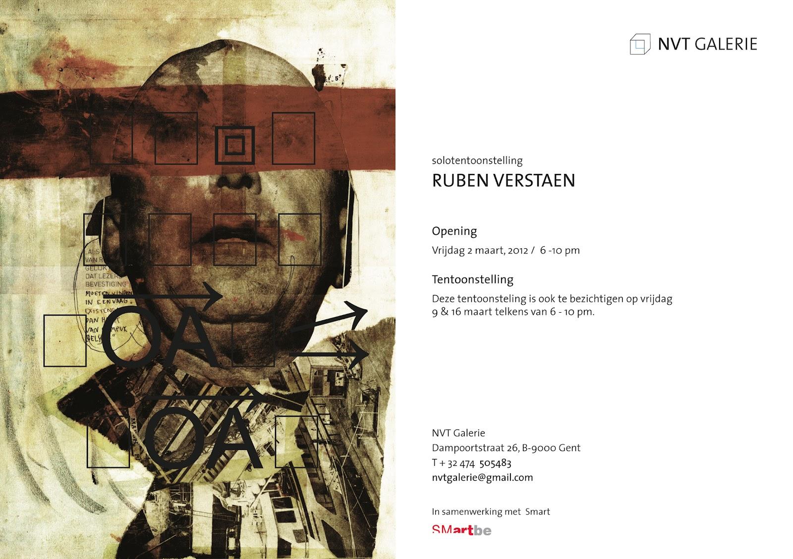 flyer NVT Galerie